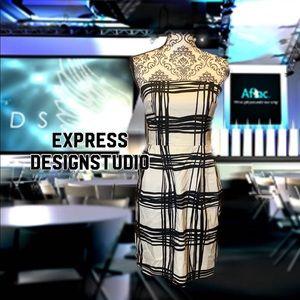 💕2for25 💕 Black and white strapless dress